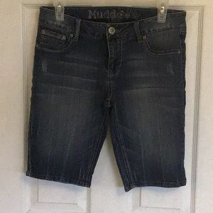 Mudd Denim Bermuda Shorts